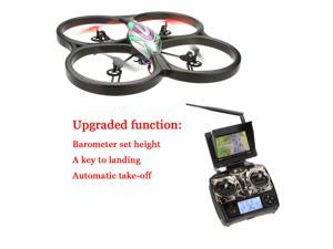 Original WLtoys Upgrade V666N 4CH 6 Axis 5.8G RTF FPV Quadcopter with 2.0MP HD Camera & Barometer Set Height and Automatic Take off Function