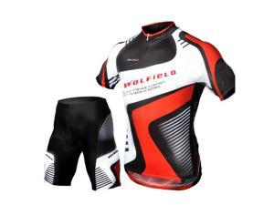 Cycling Bicycle Bike Outdoor Jersey + Shorts Short Sleeves Breathable Riding Clothes Pants