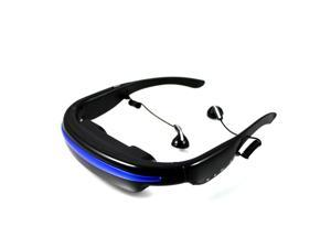 """4GB 52"""" 4:3 Virtual Wide Screen Video Glasses Eyewear Mobile Private Theater Digital with Card Slot"""