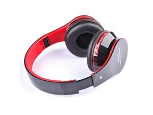 Foldable Wireless Bluetooth Stereo Headphone Headset Mic FM TF Slot for iPhone iPad Smartphone
