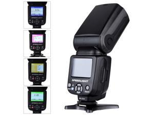 TRIOPO TR-985N Speedlite i-TTL Camera Flash High Speed Sync 1/8000s TFT Colour Display for Nikon D800 D700 D80 D90 D7000 D7100 D50 Digital SLR