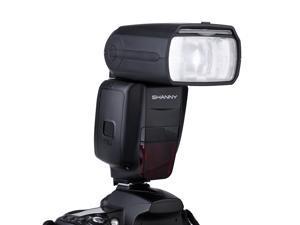SHANNY SN910EX-RF i-TTL Wireless Radio Transmission RT System Speedlight Flash for Nikon Cameras D7100 D7000 D5200 D5100 D5000 D3000 D3100