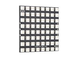 64 Bit 8*8 WS2812 5050 RGB LED Built-in Full-color Driver Lights Development Board Module