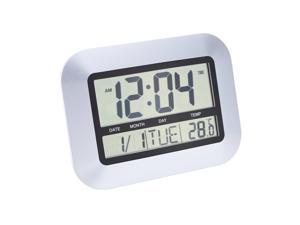 Multi-function Electronic Temperature Meter Calendar Digital Wall Clock Alarm Clock