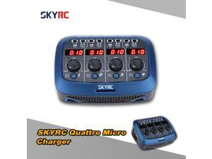 Original SKYRC Quattro Micro 4*4W 4*1S Lipo Battery Charger For RC Helicopter Quadcopter Battery
