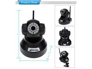 KKmoon® 0.3MP Camera PnP P2P Pan Tilt IR Cut WiFi Wireless Network IP Webcam