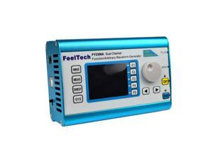 High Precision Digital DDS Dual-channel Multifunction Signal Source Generator Arbitrary Waveform/Pulse Generator Frequency Meter 200MSa/s 25MHz
