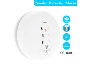 Wireless Photoelectric Smoke Detector High Sensitive Stable Fire Alarm Sensor Monitor for Home Security