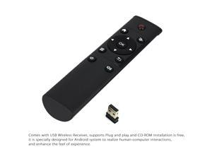 FM4 Magic 2.4G Wireless Remote Controller for Android TV Box Smart TV TV-Dongle PC Projector