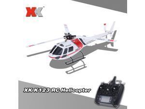 Original XK AS350 K123 6CH 3D 6G System Brushless Motor RTF RC Helicopter
