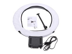 """NG-65C Pro Camera Photo/Video 19""""Outer 15""""Inner 65W 5400K Unlimited Dimmable Ring Fluorescent Flash Light Continuous Macro Ring Light for Photography Video Studio"""
