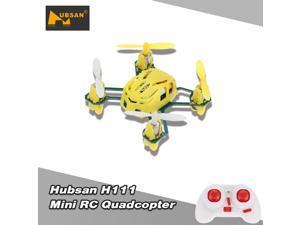 Original Hubsan NANO Q4 H111 4-CH 2.4GHz Mini RC Quadcopter RTF UFO Drone with 6-axis Gyro/LED Light
