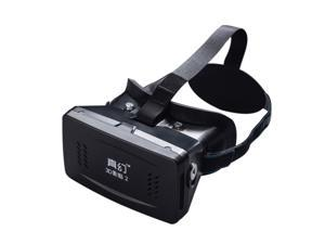 Best-selling Private 3D Glasses Google Cardboard Head-mounted 3D VR Glasses Virtual Reality DIY 3D VR Video with Magnetic Switch Movie Game 3D Glasses