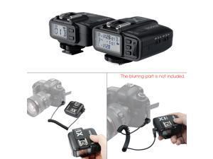 GODOX X1C TTL 1/8000s HSS 32 Channels 2.4G Wireless LCD Flash Strobe Trigger Transmitter Receiver Camera Shutter Release for Canon EOS Cameras Godox TT685C Speedlite