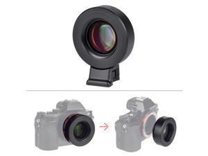 VILTROX M42-E Manual-focus M42 Mount Lens Adapter Telecompressor Focal Reducer Speed Booster for Sony NEX-F3/N3/3/C3/5/5C/5D/5N/5K/5T/5R/6/7/A7/A7-2/A7R/A7S/A5000/A6000 E-mount Camera