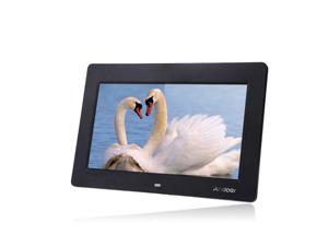 10'' HD TFT-LCD 1024 * 600 Digital Photo Frame Alarm Clock MP3 MP4 Movie Player with Remote Desktop