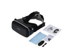 """3D VR Glasses Virtual Reality Video Movie Game Glasses Head-Mounted 3D Glasses w/ Headband with Wireless Bluetooth V3.0 Gamepad Selfie Camera Shutter for iPhone Samsung / All 3.5 ~ 6.0"""" Smart Phones"""