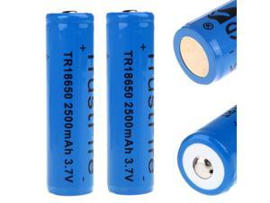 TrustFire 18650 3.7V 2500mAh Rechargeable Battery with PCB Protected Board (1pairs)