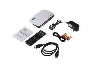 TOMTOP Smart Android TV Box Android 4.4 1080P Mini PC H.265 XBMC DLNA Miracast Airplay WiFi Smart Media Player with Remote Controller