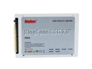 "KingSpec PATA(IDE) 2.5"" 64GB MLC Digital Solid State Drive for PC Laptop Notebook"