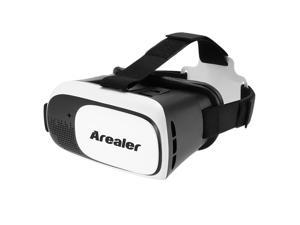 Arealer VRroam Virtual Reality Glasses 3D VR Headset 3D Movie Game Head-mounted Display Universal for Android iOS Smart Phones within 3.5 to 6.0 Inches