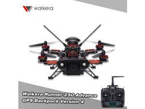 Original Walkera Runner 250 Advance GPS Backpack Version 4 FPV Drone with DEVO 7 and 800TVLCamera/GPS RC Quadcopter without OSD
