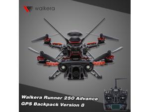 Original Walkera Runner 250 Advance GPS Backpack Version 8 FPV Drone with DEVO 7 and 1080P Camera/OSD/GPS RC Quadcopter