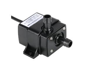 Ultra-quiet Mini DC 12V Micro Brushless Water Oil Pump Waterproof Submersible Fountain Aquarium Circulating 240L/H 5W Lift 3M 0~60?