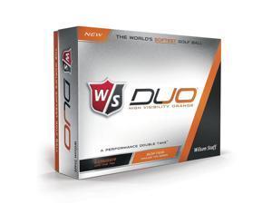 Wilson Duo Orange (2015) Golf Balls