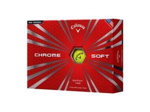 Callaway Chrome Soft (Yellow) 2016 Golf Balls