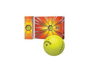 Callaway Superhot 55 (Yellow) Golf Balls