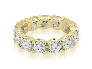 3.40 cttw. Round Diamond Eternity Ring in 14K Yellow Gold (SI2, H-I)