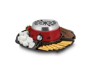 Kalorik Red 2-in-1 S'mores Maker with Chocolate Fondue Feature