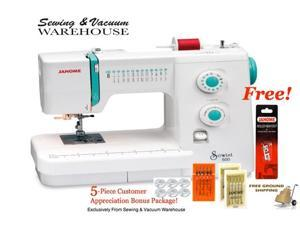 Janome Sewist 500 Sewing Machine w/FREE 5-Piece Customer Appreciation bonus Package and FREE Ground Shipping