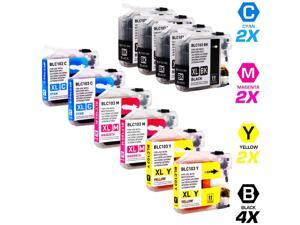 TMP BROTHER MFC-J870DW INK CARTRIDGES (10-PACK) (COMPATIBLE)