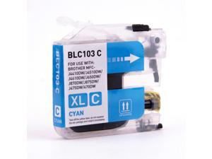 TMP BROTHER MFC-J870DW INK CARTRIDGE (CYAN) (COMPATIBLE)