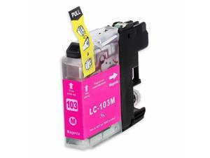 INKUTEN BROTHER MFC-J870DW INK CARTRIDGE (MAGENTA) COMPATIBLE