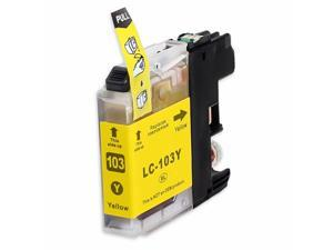 INKUTEN BROTHER MFC-J870DW INK CARTRIDGE (YELLOW) COMPATIBLE