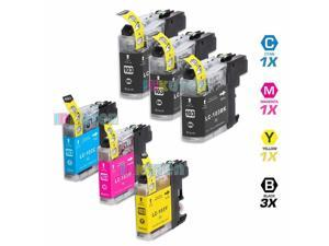 INKUTEN BROTHER MFC-J870DW INK CARTRIDGES (6-PACK) COMPATIBLE