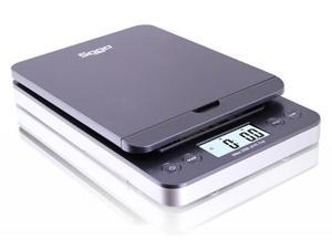 Saga 86 lb Digital Postal Shipping Scale x 0.1 oz w/ AC USB M S Pro Model (Gray)
