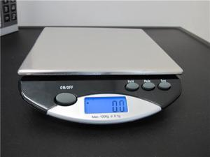 SAGA Digital Bench Jewelry Food Kitchen Scale 13lbsx1g, Digital Shipping Scale