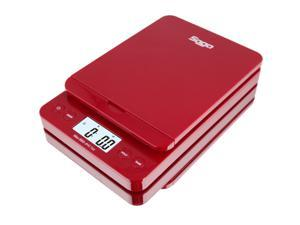 SAGA 86 LB Digital Postal Shipping Scale 0.1 Oz Weight Postage W/AC USB M S Pro Model - Red