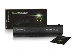 RAVPower® Laptop Notebook Replacement Li-ion Battery (6-Cell / 4400mAh), for HP Pavilion G60-230US G60-120US G60-125NR G60-458DX ...