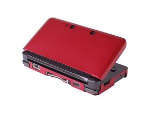 Red Aluminium Hard Shell Case Skin Cover For Nintendo 3DS XL LL