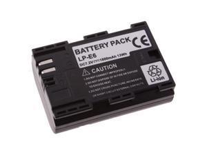 Battery For Canon LP-E6 LC-E6 5D 7D Mark II 2 5D MARK III 7D 60D 5D2 5D3
