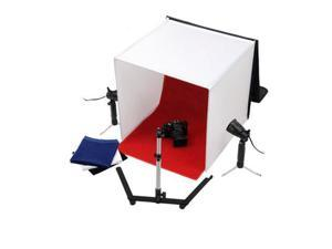 "20"" Photography Photo Studio Cube Tent Light Box + Lighting Stand Kit 50cm"