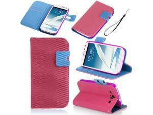 Samsung Galaxy Note 2 Case - Basketball Veins Hexagon PU Leather Flip Wallet Pouch Card Slots Stand Case Cover For Samsung ...