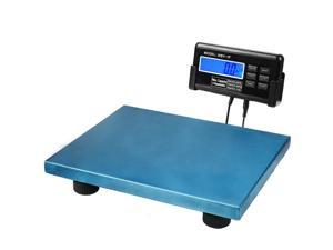 440Lbs Digital Scale Shipping Blue Platform Postal Parcels for Vet Veterinary Animal Pet Dog Cat Livestock Weight 200KG Capacity with LCD Backlight and AC Adapter