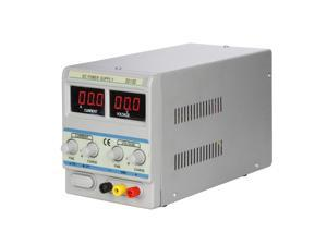 30V 6A DC Power Supply Single-Output 110V/220V Switchable Precision Variable Digital Display Adjustable with Input AC Power Cable for Lab Scientific Use Machine 3010D