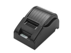 USB Thermal Printer 384 Line High Speed Dot Receipt Printing Set Paper Width 58mm Compatible ESC/POS Command Built in Data Buffer with Power Adapter Roll Paper